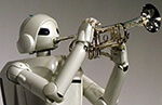 Robots:  not in humanoid form, but taking cues from its owner