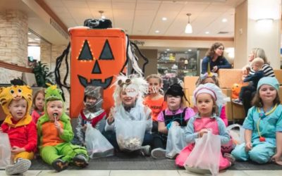 TUG Mobile Robots Bring Some Halloween Joy (and Candy!) To Children at UPMC Hospital